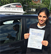 New Turn Driving School - Pupil Driving Test Pass